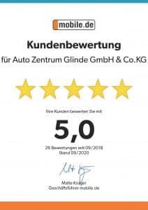 Kundenbewertung (1)